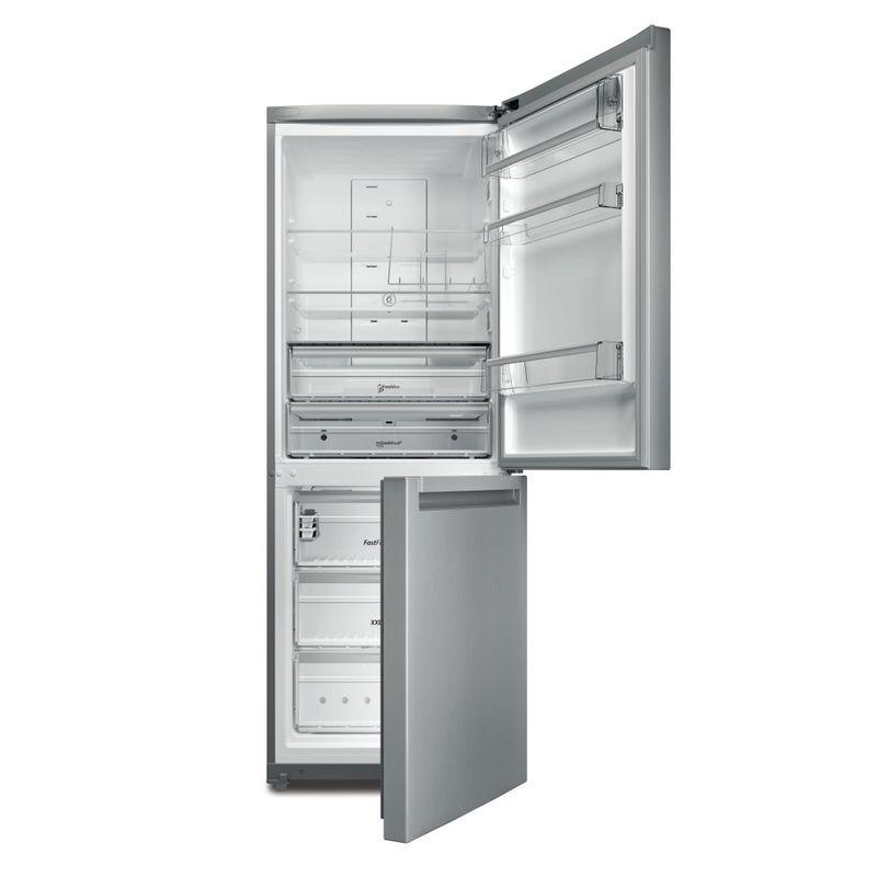 Whirlpool-Combinazione-Frigorifero-Congelatore-A-libera-installazione-B-TNF-5012-OX2-Inox-2-porte-Frontal-open