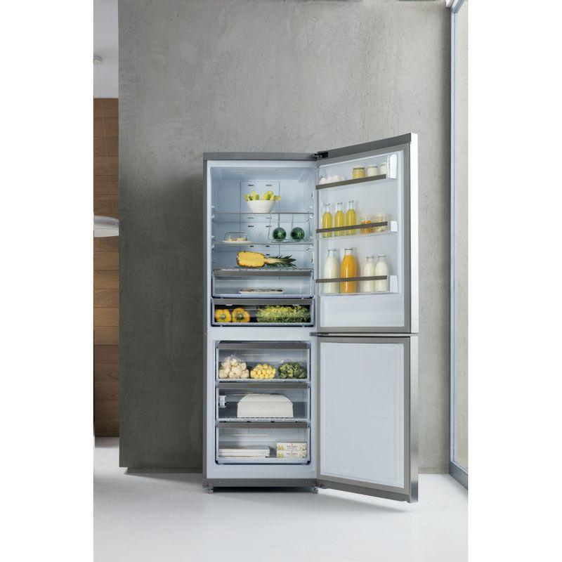 Whirlpool-Combinazione-Frigorifero-Congelatore-A-libera-installazione-B-TNF-5012-OX2-Inox-2-porte-Lifestyle-frontal-open