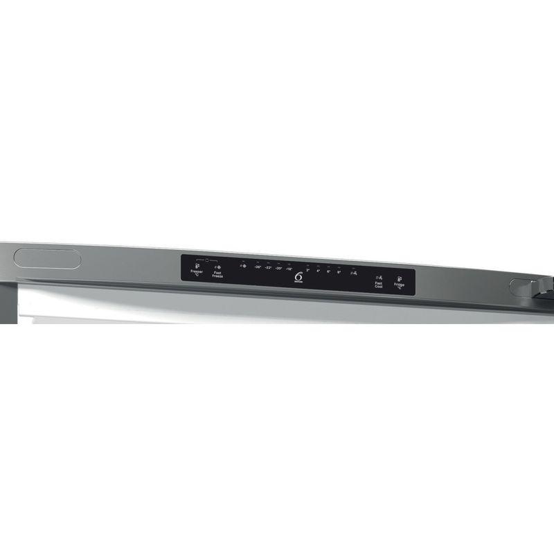 Whirlpool-Combinazione-Frigorifero-Congelatore-A-libera-installazione-B-TNF-5012-OX2-Inox-2-porte-Control-panel