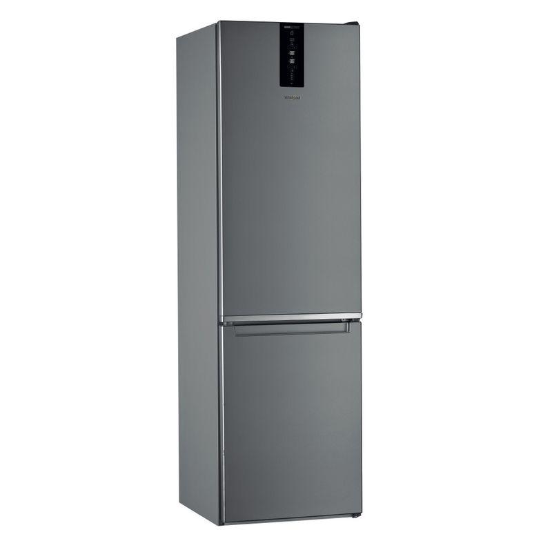 Whirlpool-Combinazione-Frigorifero-Congelatore-A-libera-installazione-W7-931T-OX-Optic-Inox-2-porte-Perspective