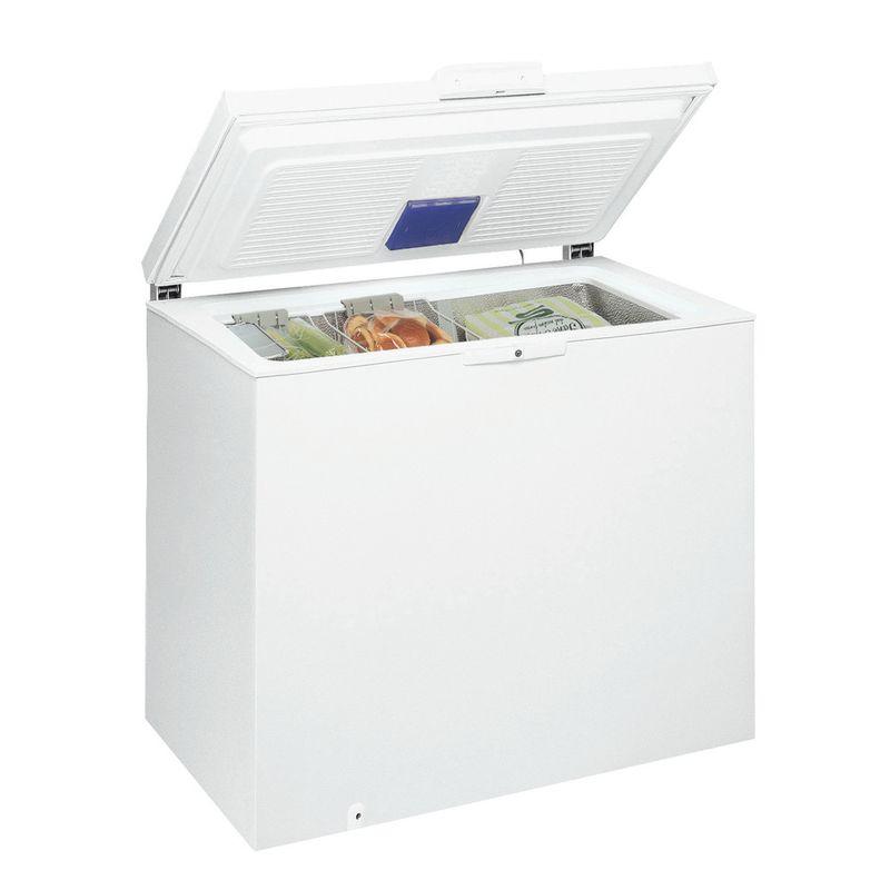 Whirlpool-Congelatore-A-libera-installazione-WHE25332-2-Bianco-Perspective-open