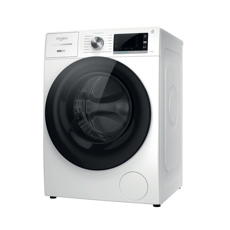 Whirlpool-Lavabiancheria-A-libera-installazione-W7-W045WB-IT-Bianco-Carica-frontale-B-Perspective
