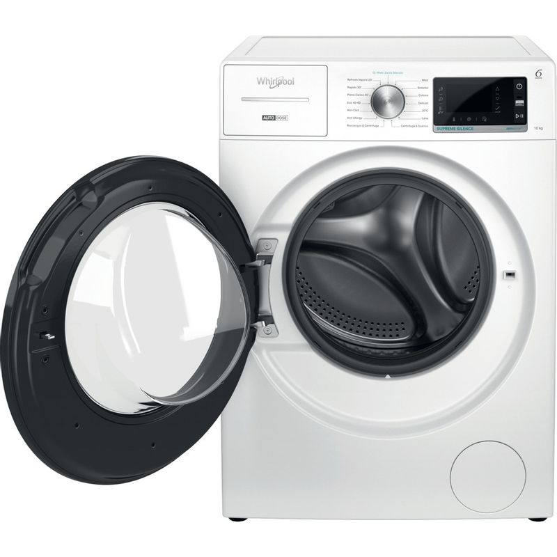 Whirlpool-Lavabiancheria-A-libera-installazione-W7-W045WB-IT-Bianco-Carica-frontale-B-Frontal-open