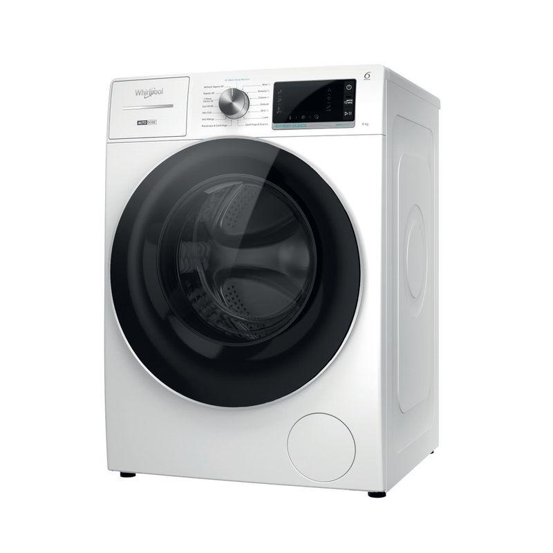 Whirlpool-Lavabiancheria-A-libera-installazione-W8-W946WR-IT-Bianco-Carica-frontale-A-Perspective