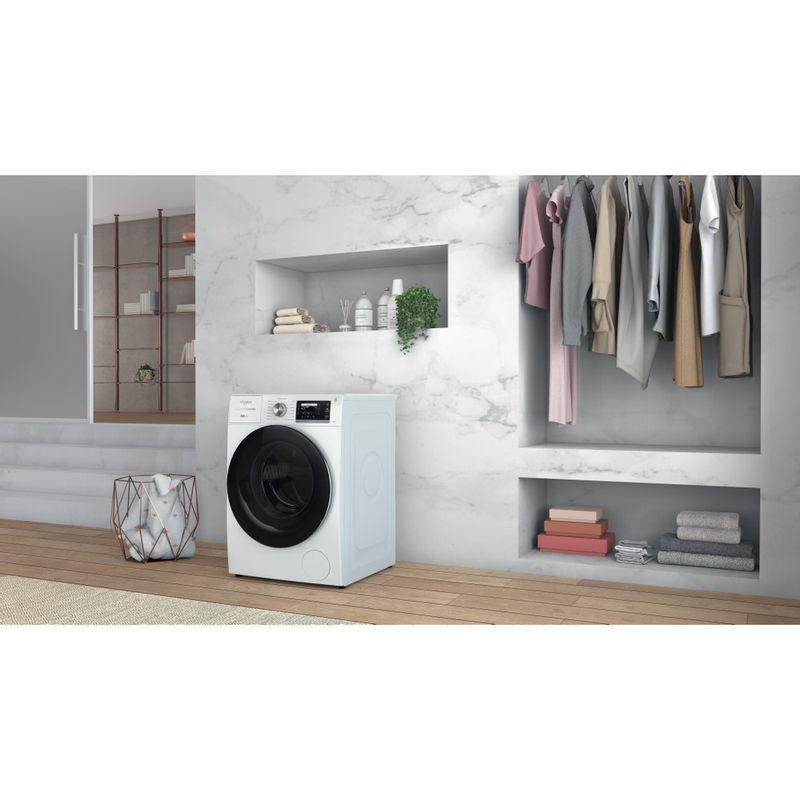 Whirlpool-Lavabiancheria-A-libera-installazione-W8-W946WR-IT-Bianco-Carica-frontale-A-Lifestyle-perspective
