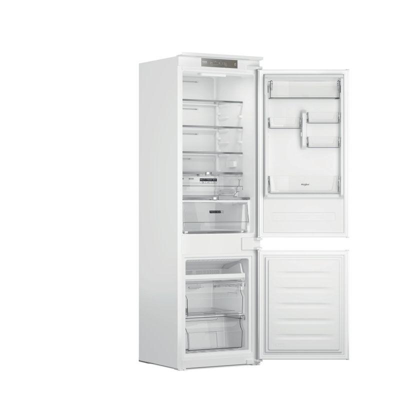 Whirlpool-Combinazione-Frigorifero-Congelatore-Da-incasso-WHC18-T322-Bianco-2-porte-Perspective-open