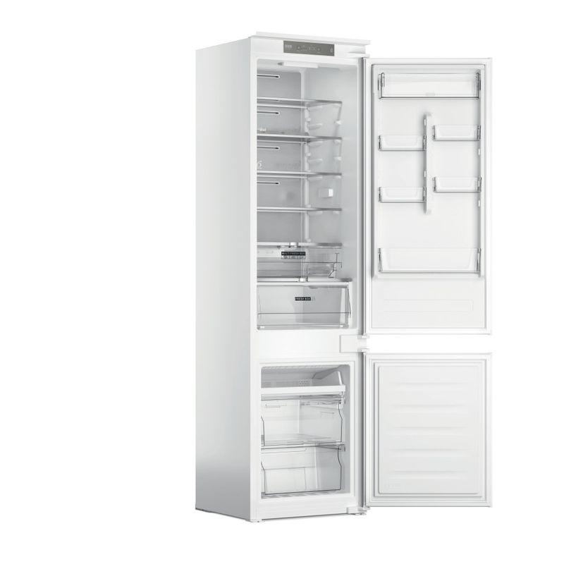 Whirlpool-Combinazione-Frigorifero-Congelatore-Da-incasso-WHC20-T352-Bianco-2-porte-Perspective-open