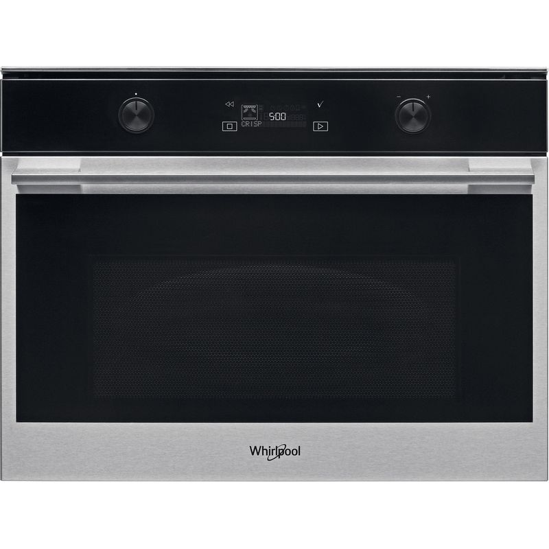 Whirlpool-Microonde-Da-incasso-W7-MW541-Stainless-Steel-Elettronico-40-Microonde---grill-900-Frontal