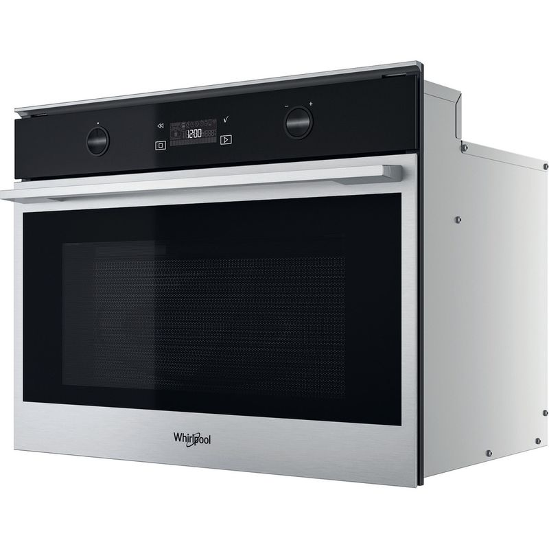 Whirlpool-Microonde-Da-incasso-W7-MW541-Stainless-Steel-Elettronico-40-Microonde---grill-900-Perspective