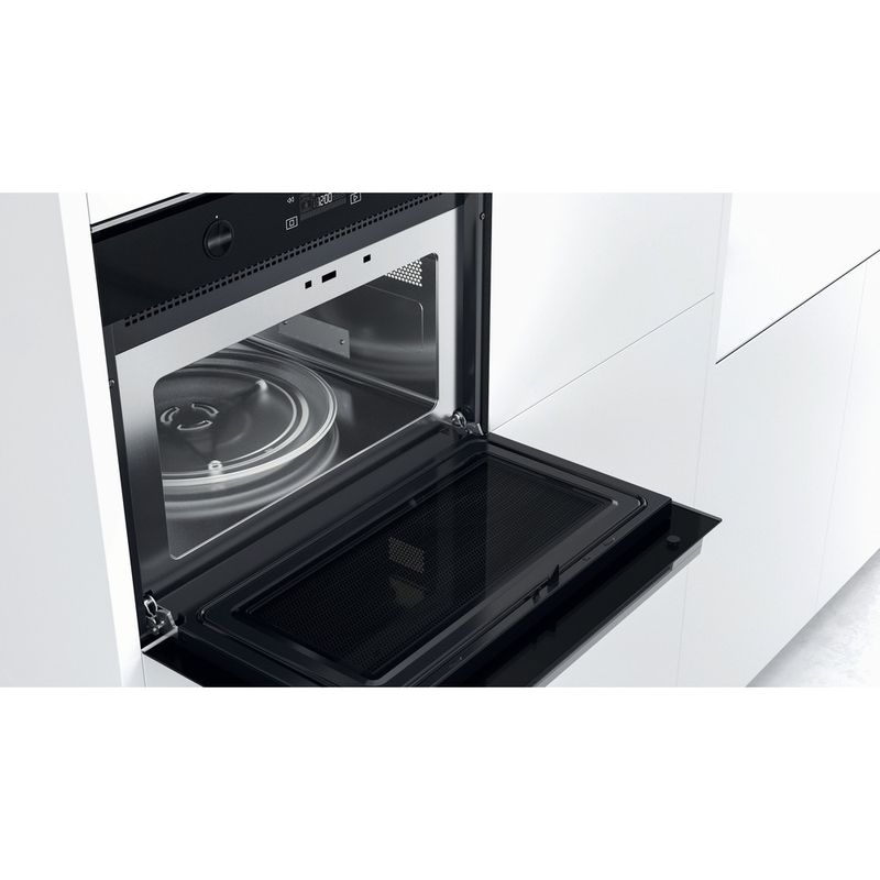 Whirlpool-Microonde-Da-incasso-W7-MW541-Stainless-Steel-Elettronico-40-Microonde---grill-900-Lifestyle-perspective-open