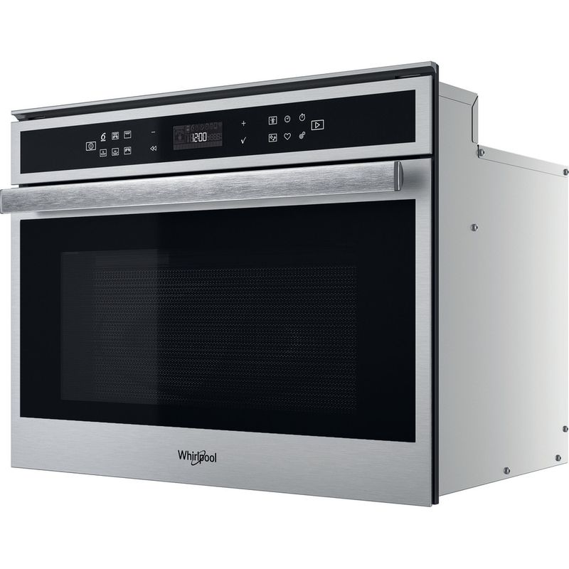 Whirlpool-Microonde-Da-incasso-W6-MW441-Stainless-Steel-Elettronico-40-Microonde---grill-900-Perspective