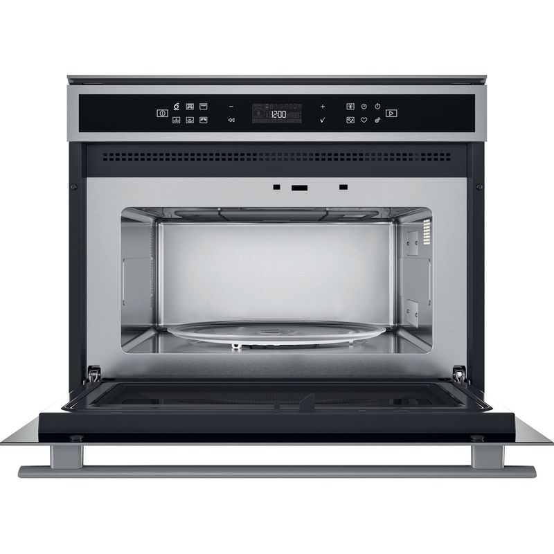 Whirlpool-Microonde-Da-incasso-W6-MW441-Stainless-Steel-Elettronico-40-Microonde---grill-900-Frontal-open