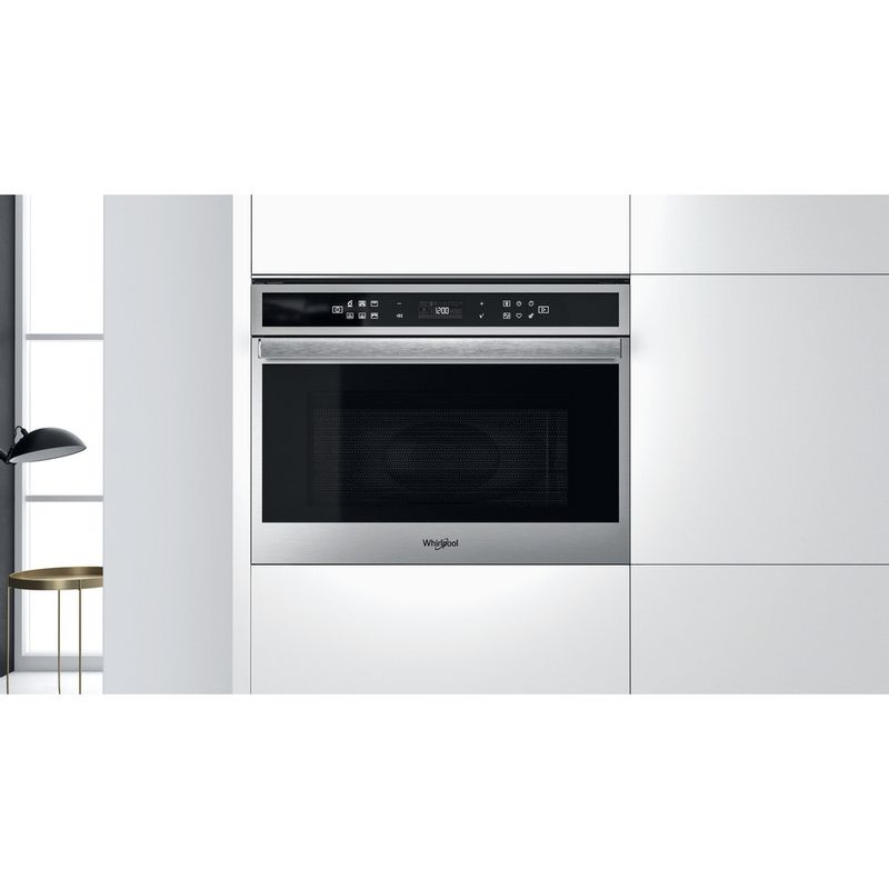 Whirlpool-Microonde-Da-incasso-W6-MW441-Stainless-Steel-Elettronico-40-Microonde---grill-900-Lifestyle-frontal