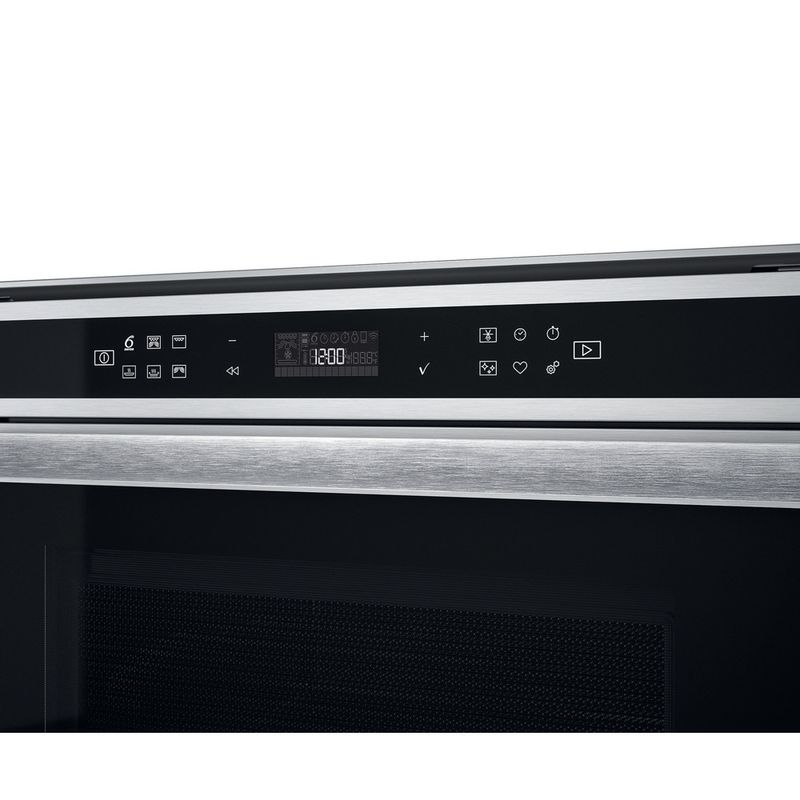 Whirlpool-Microonde-Da-incasso-W6-MW441-Stainless-Steel-Elettronico-40-Microonde---grill-900-Control-panel