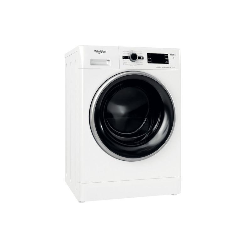 Whirlpool-Lavasciugabiancheria-A-libera-installazione-FWDG-961483-WBSV-IT-N-Bianco-Carica-frontale-Perspective