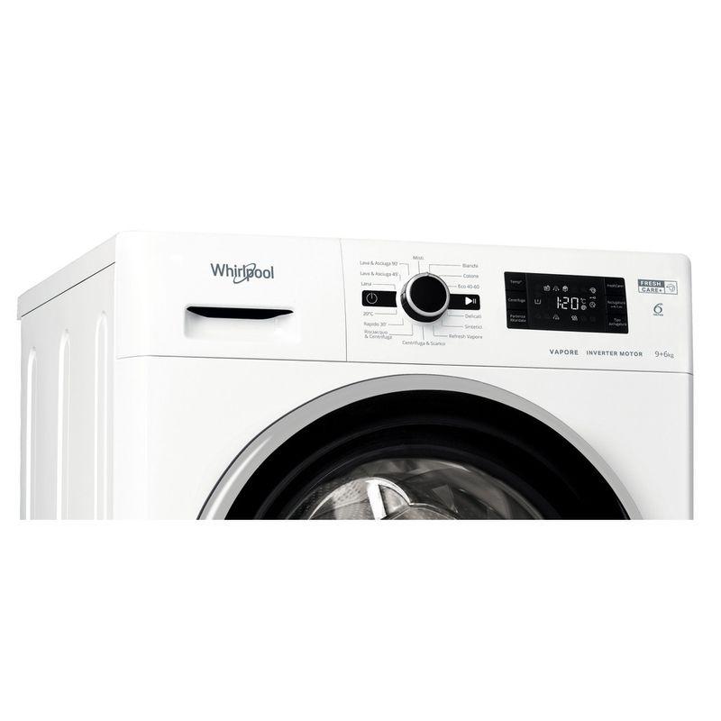 Whirlpool-Lavasciugabiancheria-A-libera-installazione-FWDG-961483-WBSV-IT-N-Bianco-Carica-frontale-Control-panel