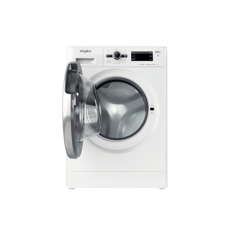 Whirlpool-Lavabiancheria-A-libera-installazione-FSB-723V-BS-IT-N-Bianco-Carica-frontale-D-Frontal-open