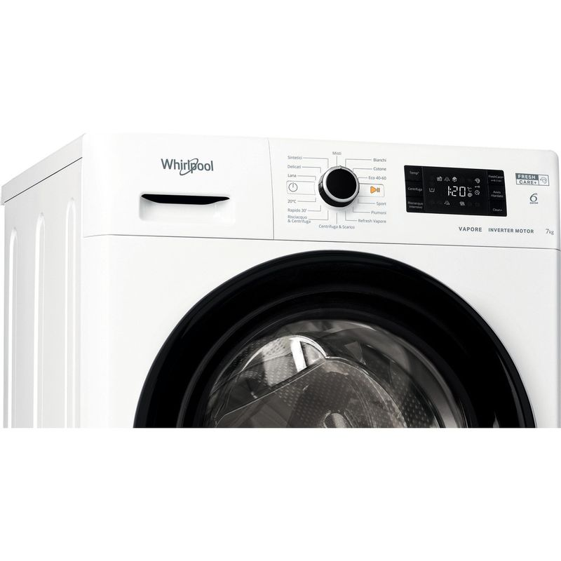 Whirlpool-Lavabiancheria-A-libera-installazione-FSB-723V-BS-IT-N-Bianco-Carica-frontale-D-Control-panel