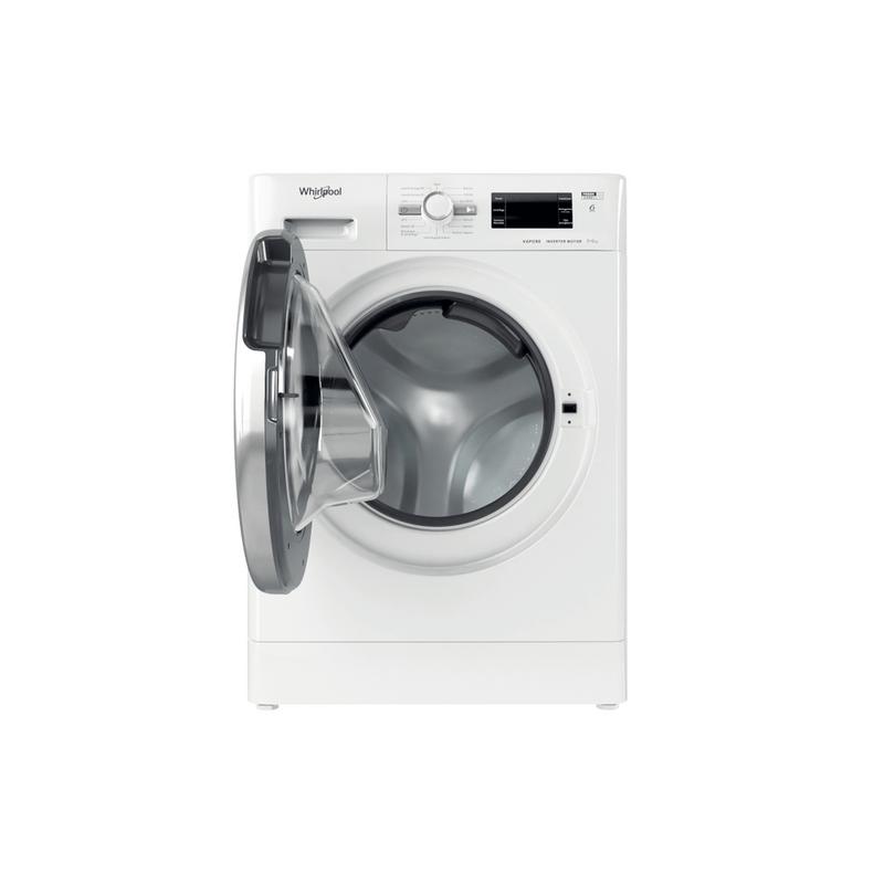 Whirlpool-Lavasciugabiancheria-A-libera-installazione-FWDG-961483-WSV-IT-N-Bianco-Carica-frontale-Frontal-open