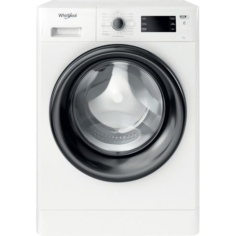 Whirlpool-Lavabiancheria-A-libera-installazione-FWSG-61251-B-IT-N-Bianco-Carica-frontale-F-Frontal
