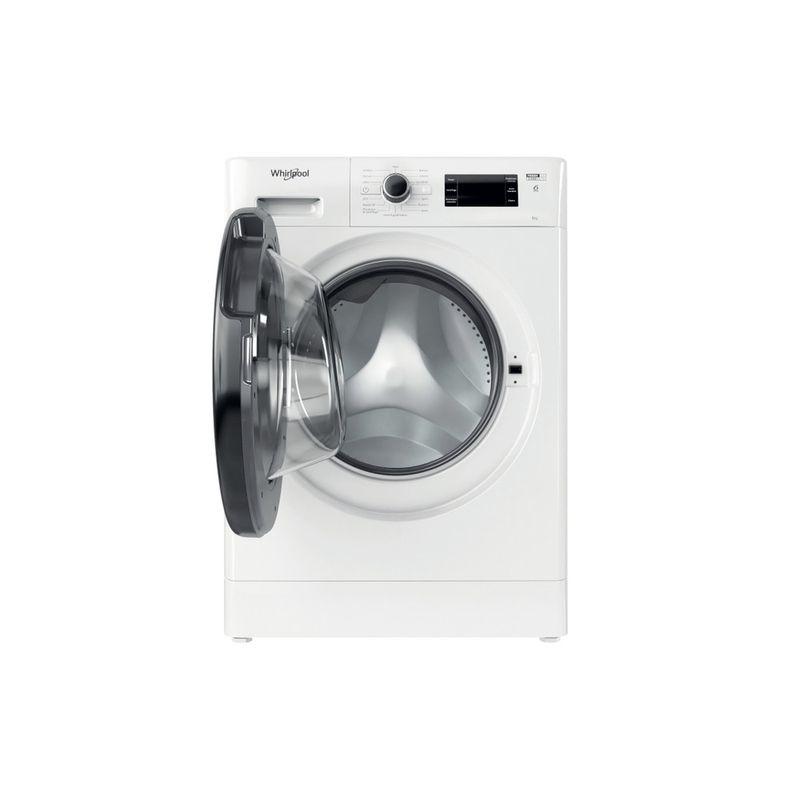 Whirlpool-Lavabiancheria-A-libera-installazione-FWSG-61251-B-IT-N-Bianco-Carica-frontale-F-Frontal-open