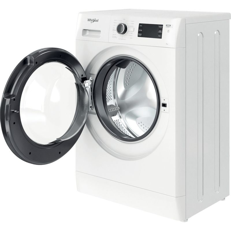 Whirlpool-Lavabiancheria-A-libera-installazione-FWSG-61251-B-IT-N-Bianco-Carica-frontale-F-Perspective-open