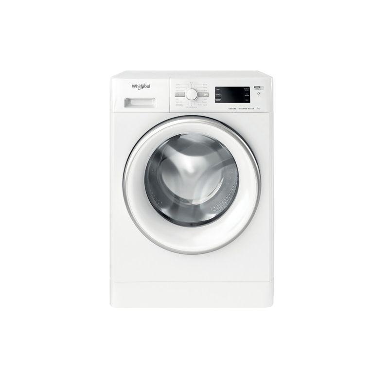 Whirlpool-Lavabiancheria-A-libera-installazione-FSB-723V-S-IT-N-Bianco-Carica-frontale-D-Frontal
