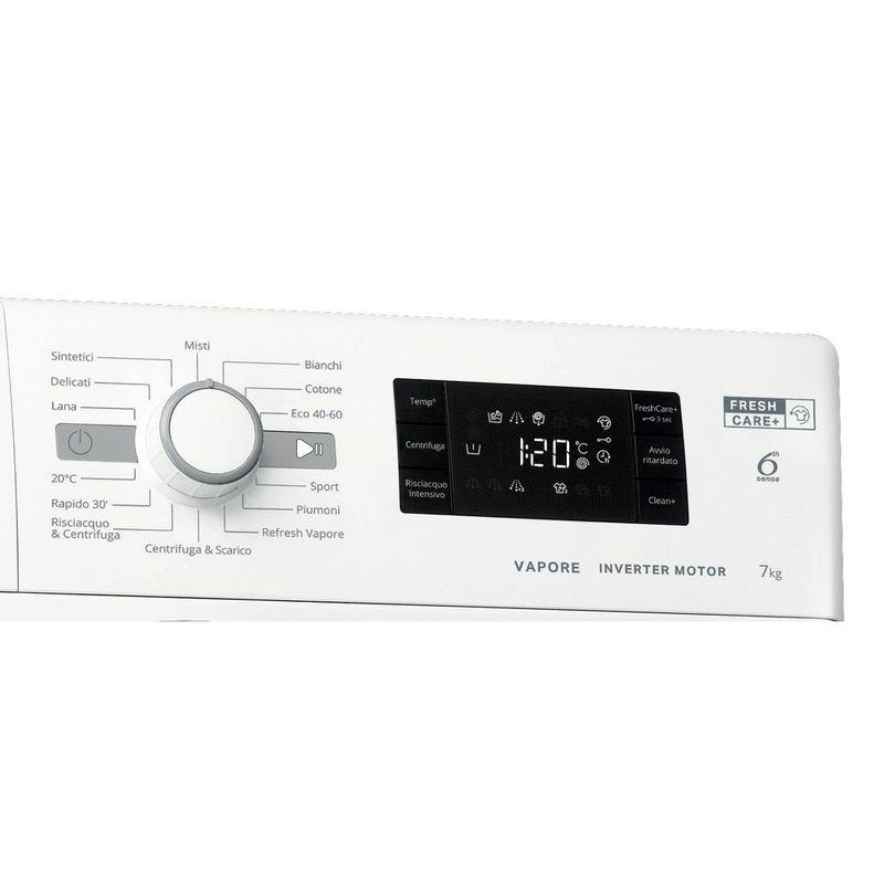 Whirlpool-Lavabiancheria-A-libera-installazione-FSB-723V-S-IT-N-Bianco-Carica-frontale-D-Control-panel