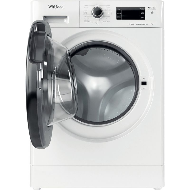 Whirlpool-Lavabiancheria-A-libera-installazione-FSR-327BV-BS-IT-N-Bianco-Carica-frontale-D-Frontal-open