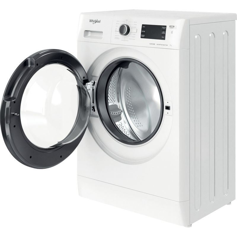 Whirlpool-Lavabiancheria-A-libera-installazione-FSR-327BV-BS-IT-N-Bianco-Carica-frontale-D-Perspective-open