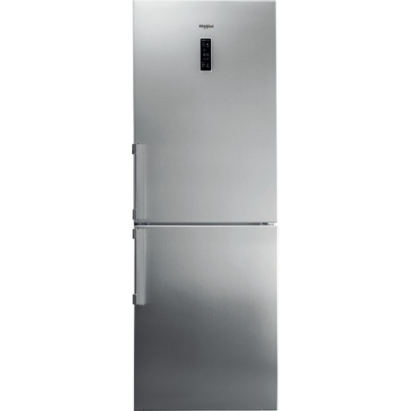 Whirlpool-Combinazione-Frigorifero-Congelatore-A-libera-installazione-WB70E-972-X-Optic-Inox-2-porte-Frontal