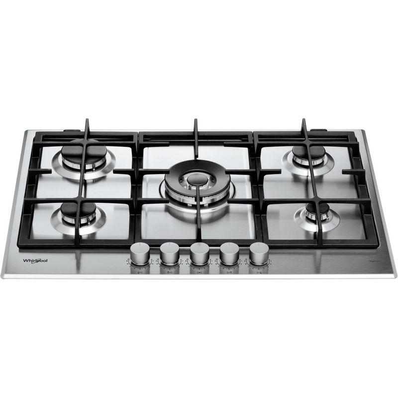 Whirlpool-Piano-cottura-GMAL-7522-IXL-Inox-Ixelium-GAS-Frontal-top-down