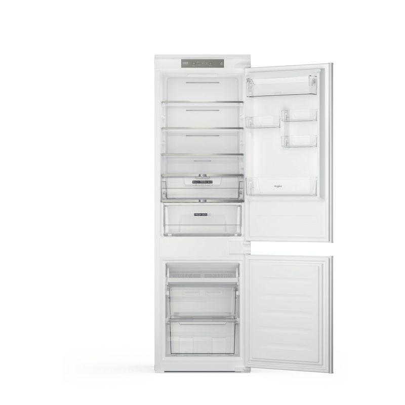 Whirlpool-Combinazione-Frigorifero-Congelatore-Da-incasso-WHC18-T322-Bianco-2-porte-Frontal-open