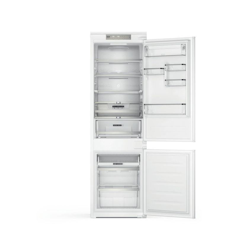 Whirlpool-Combinazione-Frigorifero-Congelatore-Da-incasso-WHC18-T573-Bianco-2-porte-Frontal-open