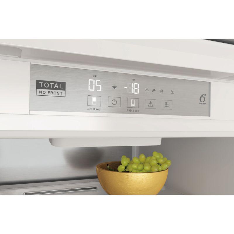 Whirlpool-Combinazione-Frigorifero-Congelatore-Da-incasso-WHC18-T573-Bianco-2-porte-Control-panel