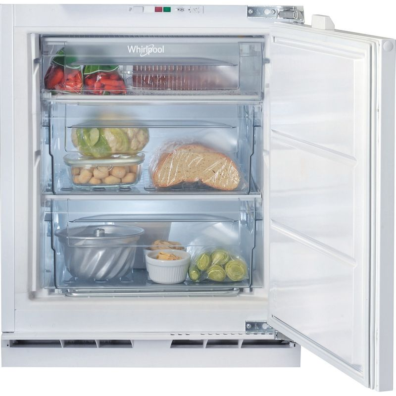 Whirlpool-Congelatore-Da-incasso-AFB-8281-Bianco-Frontal-open