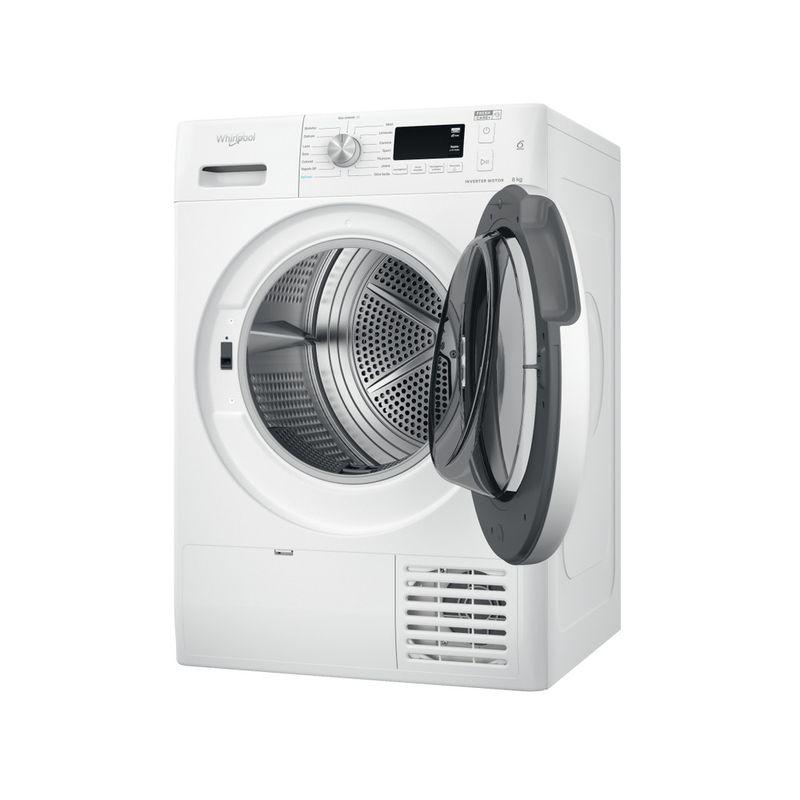 Whirlpool-Asciugabiancheria-FFT-M11-8X3-IT-Bianco-Perspective-open
