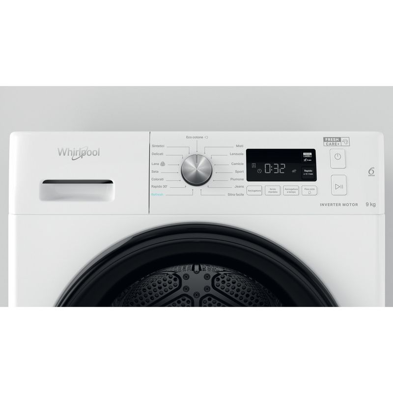 Whirlpool-Asciugabiancheria-FFT-M11-9X2B-IT-Bianco-Lifestyle-control-panel