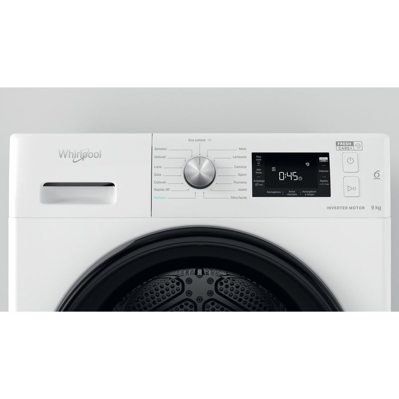 Whirlpool-Asciugabiancheria-FFT-M22-9X3B-IT-Bianco-Lifestyle-control-panel