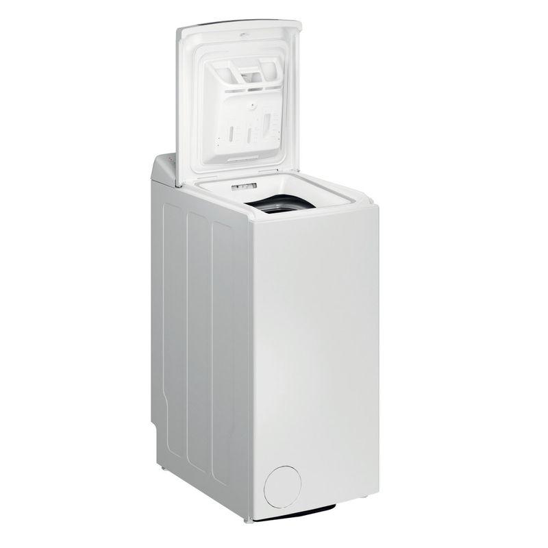 Whirlpool-Lavabiancheria-A-libera-installazione-TDLR-6230S-IT-N-Bianco-Carica-dall-altro-D-Perspective-open