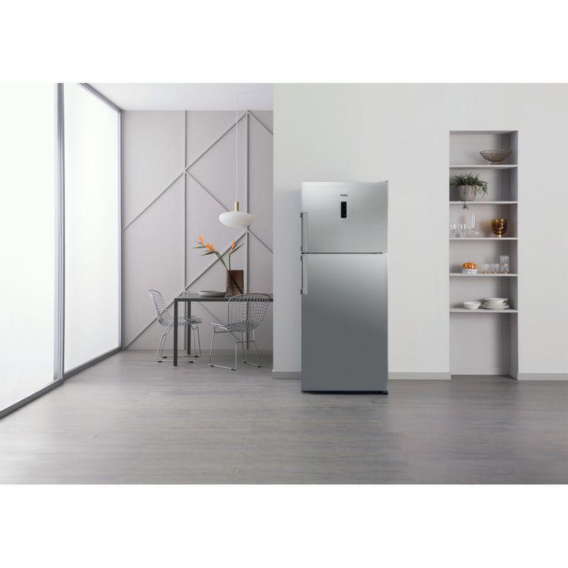 Whirlpool-Combinazione-Frigorifero-Congelatore-A-libera-installazione-WT70E-952-X-Optic-Inox-2-porte-Lifestyle-frontal