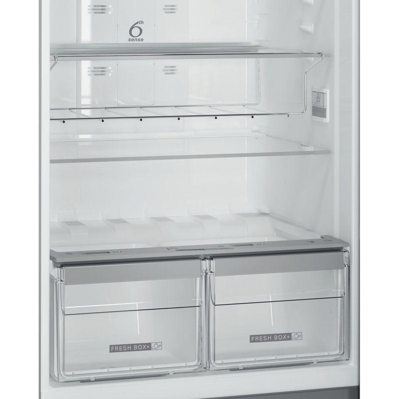 Whirlpool-Combinazione-Frigorifero-Congelatore-A-libera-installazione-WT70E-952-X-Optic-Inox-2-porte-Drawer