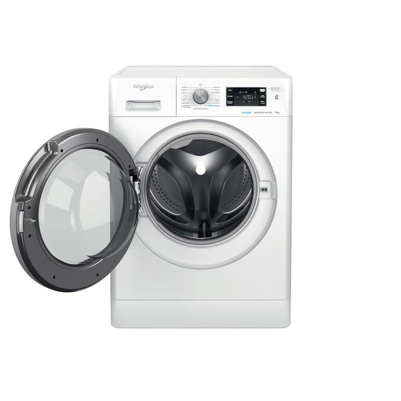 Whirlpool-Lavabiancheria-A-libera-installazione-FFB-R8529-BSV-IT-Bianco-Carica-frontale-B-Frontal-open