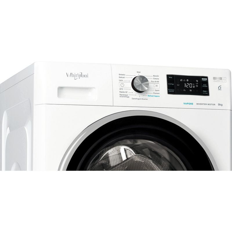 Whirlpool-Lavabiancheria-A-libera-installazione-FFB-R8529-BSV-IT-Bianco-Carica-frontale-B-Control-panel
